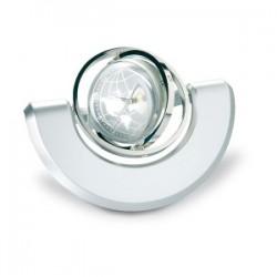 Globe rotatif horloge et photo