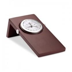 Horloge de bureau acajou Woodclo