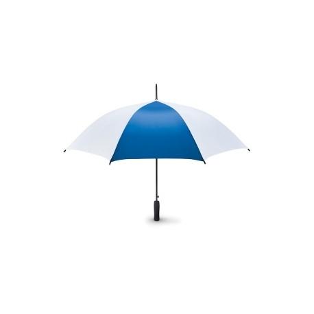 Parapluie tempête bicolore ouverture auto