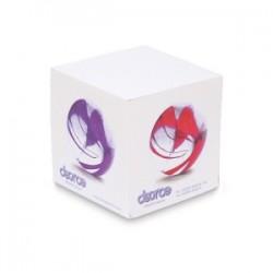 Bloc cube papier blanc