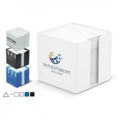 Boite cube papier avec papier