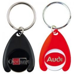 Porte-clés jeton attache AT20 plastique
