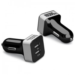 Chargeur voiture 2 ports USB - 2.1A (Stock)