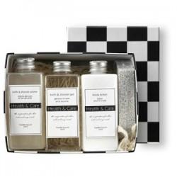 Set de bain shampooing, bain moussant et lotion