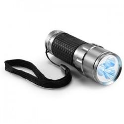 Torche en métal 3 LEDS
