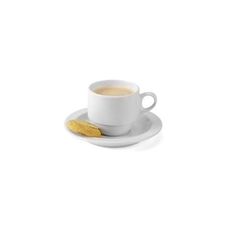 Tasse en porcelaine avec soucoupe