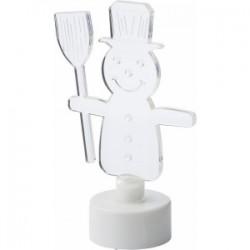 Figurine de table lumineuse en acrylique muni