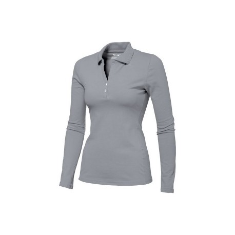 Polo femme body fit manches longues Slazenger