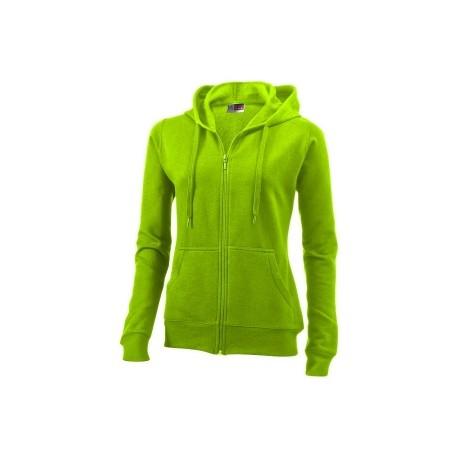 Sweater zippé à capuche Utah Femme